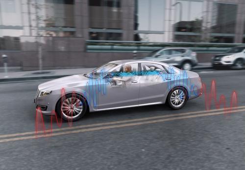Sensor de cancelación de ruido para industria automotriz