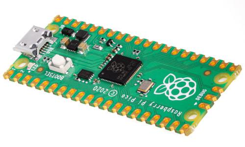Microcontrolador Raspberry Pi RP2040