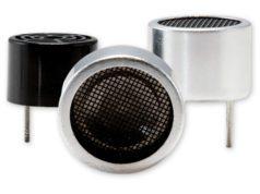 Sensores ultrasónicos con opciones de transmisor, receptor y transceptor
