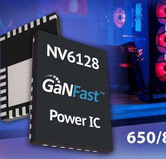 NV6128 Controlador GaNFast de 650/800 V para aplicaciones móviles y de consumo