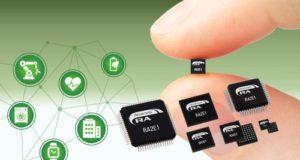 RA2E1 MCU para aplicaciones con restricciones de espacio