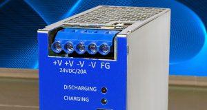 DBM20 búfer de almacenamiento de energía para carril DIN