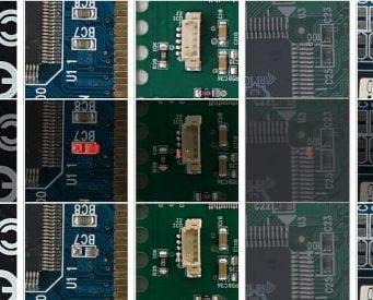 Software para inspección de PCBs basado en red neuronal