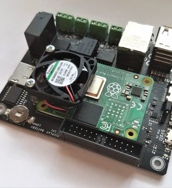 CM Hunter Carrier industrial para Raspberry Pi CM4 con interfaces ISO