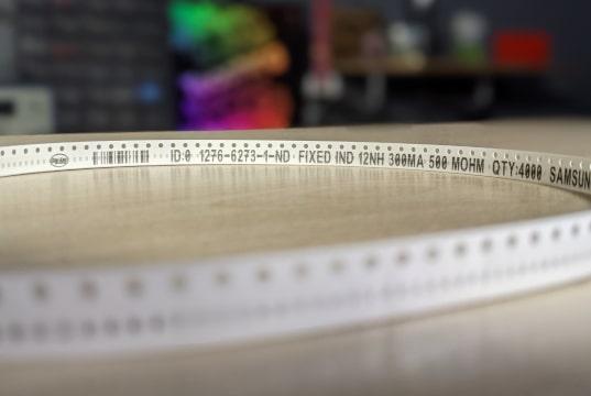 Seguimiento de piezas mejorado en cintas cortadas