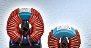 Choques de núcleo de doble anillo con corriente compensada