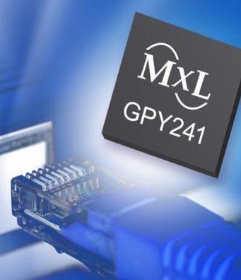 GPY241 PHY Ethernet de cuatro puertos para 2.5GBASE-T