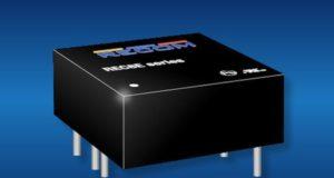 "REC8E Convertidores DC/DC de 8 W de 1x1"" para electromovilidad"