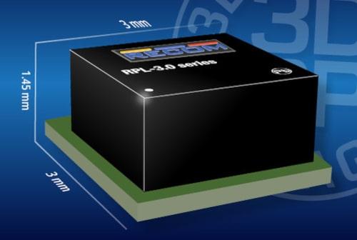 RPL-3.0 Convertidor PoL compacto de 3 A