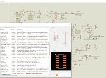 Proteus agrega la búsqueda de modelos CAD SnapEDA