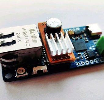 Placa Squama de CAN FD a Ethernet
