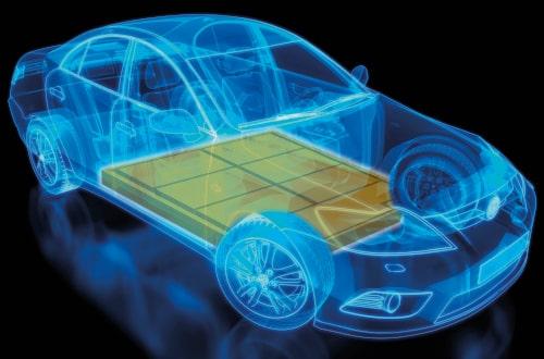 Los bloques de baterías en los nuevos vehículos eléctricos