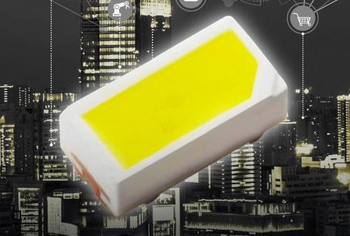 LEDs blancos CSL1104WB ultracompactos y de alta intensidad luminosa