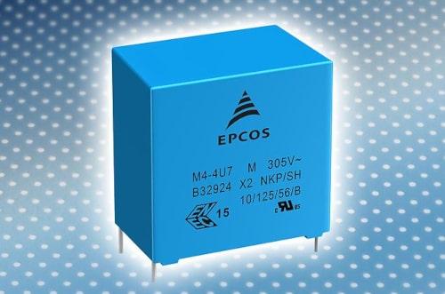 Condensadores de película EPCOS MKP-X2