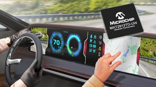 controlador de pantalla táctil maXTouch
