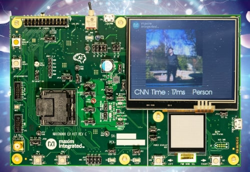 MAX78000 Microcontrolador con capacidad de detección de personas