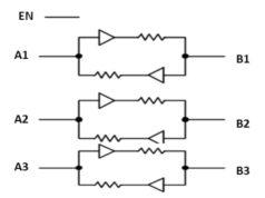 PI4ULS3V304AQ Cambiador de tensión para automoción