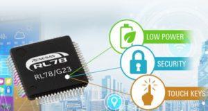 MCU de 16 bit RL78/G23 y muy bajo consumo