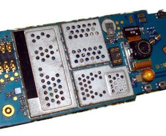 Conociendo los componentes internos de un teléfono móvil