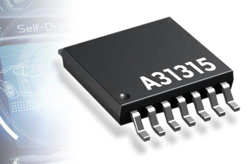 Sensor magnético de posición A31315 para aplicaciones ADAS