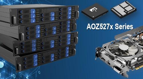 AOZ527xQI SPS de alto rendimiento en QFN de 5 x 6 mm