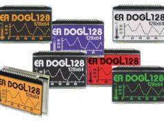 """LCD gráficos de 2.8"""" de bajo consumo DOGL128"""