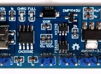 Placa cargadora de baterías LiFePO4