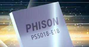 PS5018-E18 Controlador flash PCIe Gen4 para NAND de 176 capas