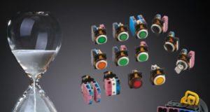Interruptores de panel de control de 22 mm con tecnología push-in