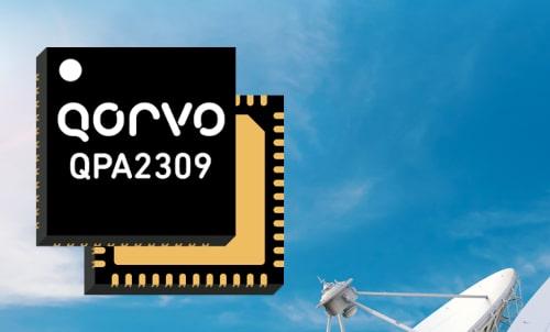 QPA2309 Amplificador de potencia GaN de 100 W para la banda-C