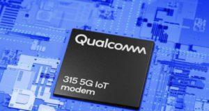 Chipset 5G NR 315 5G IoT Modem-RF para la IIoT