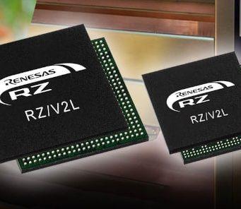 CPUs RZ/V2L con DRP-IA para aplicaciones de visión inteligentes