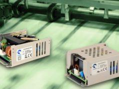 Fuentes de alimentación de 30 a 125 W AC-DC para montaje en chasi