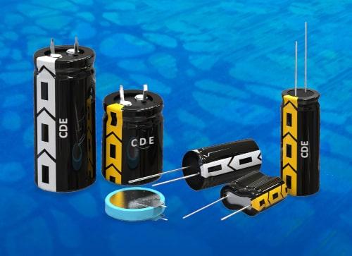 DGH y DSF Supercondensadores radiales de 0,5 a 600 F