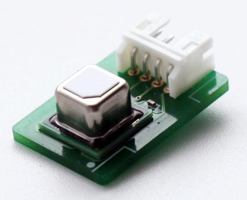 Módulo sensor de aire ambiente para evitar la propagación de la COVID-19