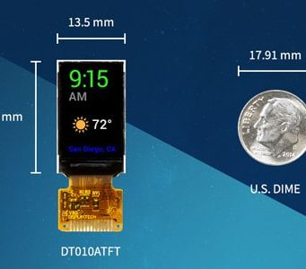 "DT010ATFT Módulo LCD TFT con pantalla IPS de 1"""