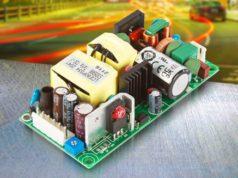 LCE80 fuente open frame de 80 W refrigerada por convección