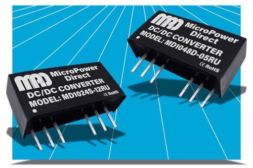 Serie MD1000RU de conversores DC/DC en SiP