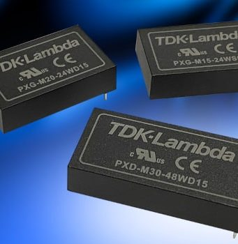 PXD-M30 Convertidores CC-CC de 30 W y aislamiento de 5 kVac