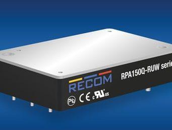 RPA150-Q Convertidores DC/DC para aplicaciones ferroviarias