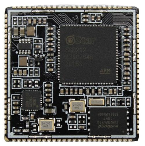 IDO-SOM2D02-V1-2GW SOM compacto con SoC SSD202