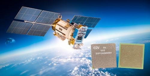 ADC de cuatro canales EV12AQ600