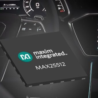 Controlador de retroiluminación MAX25512