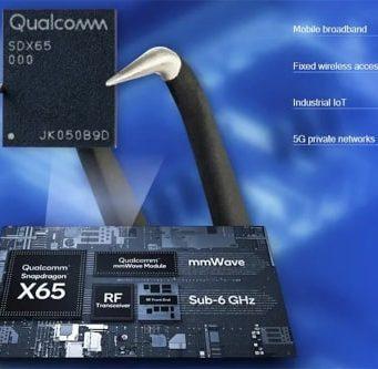 Sistema de módem RF 5G Snapdragon X65