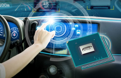 R-Car Gen3e SoC de 2 GHz para automóviles