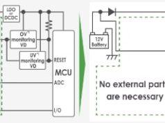 S-191L/N circuito de monitorización de batería con protección