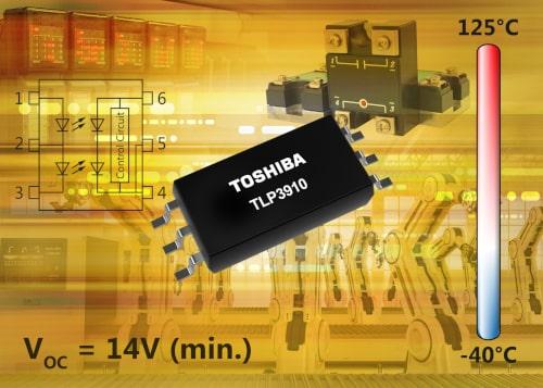 Fotoacoplador de salida fotovoltaica TLP3910