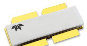 Transistores GaN/SiC RF de 100 V y 3,6 kW