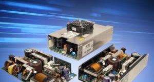 XMS500A, fuentes configurables de 500 W para entornos sanitarios e industriales
