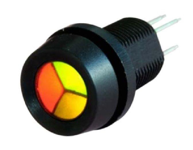 STR/LH23 LEDs de dos y tres segmentos para paneles